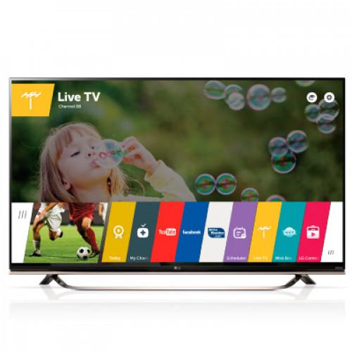 """LG 55"""" 3D SMART LED TV 55UF8517 4K 3840X2160p PQI 1600 Hz 3XHDMI 2XUSB2.0 1XUSB3.0 LAN/WIFI/WEBOS DVB-T2/C/S2 (MPEG-4), SOUND 2.1 10W+10W"""