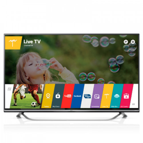 "LG 43"" SMART LED TV 43UF7787 4K 3840X2160p PQI 1500 Hz 3XHDMI 2XUSB2.0 1XUSB3.0 LAN/WIFI/WEBOS DVB-T2/C/S2 (MPEG-4), SOUND 2.1 10W+10W"