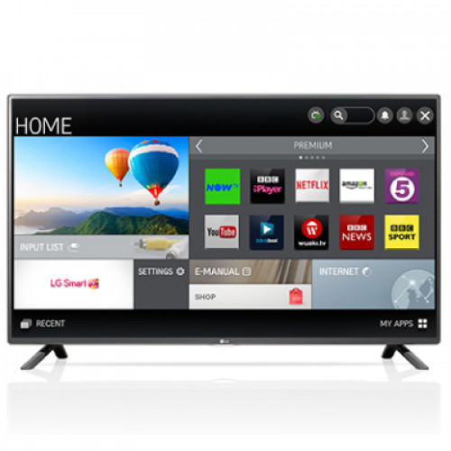 "LG 32"" SMART LED TV 32LF580V  FHD 1920x1080p 400Hz MCI 3xHDMI 3xUSB LAN/WiFi DVB-T2/C/S2 (MPEG-4), Sound 20W"