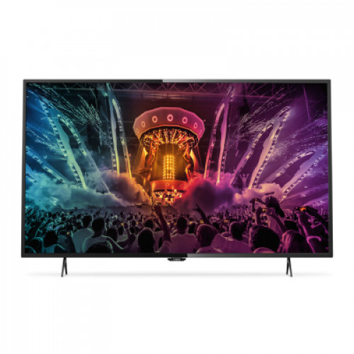 "Philips smart LED TV 43"" 43PUS6101/12 800Hz 4K UHD 3840x2160 350cd 4xHDMI 3xUSB LAN WiFi DVB-T/T2/C/S/S2, 16W, A+"