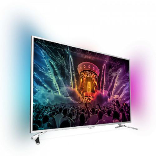 "Philips Android™ Ambilight LED TV 43"" 43PUS6501/12 PPI-1800 UHD 3840x2160p 400cd 4xHDMI 3xUSB LAN WiFi DVB-T/T2/C/S/S2, 20W"
