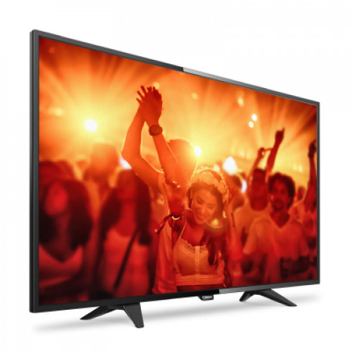 "Philips LED Ultra Slim TV 48"" 48PFT4101/12 FHD 1920x1080p 200cd PPI-200Hz 2xHDMI USB(AVI/MKV) DVB-T/T2/C (MPEG-4) 16W, C:Black, A+"