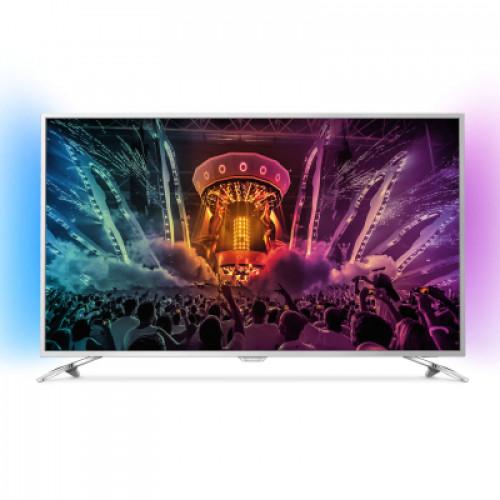 "Philips Android™ Ambilight 4K LED TV 49"" 49PUS6501/12 PPI-1800 UHD 3840x2160p 400cd 4xHDMI 3xUSB LAN WiFi DVB-T/T2/C/S/S2, 20W"