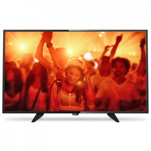"Philips LED Ultra Slim TV 32"" 32PHT4101/12 HDR 1366x768p 200cd PPI-200Hz 2xHDMI USB(AVI/MKV) DVB-T/T2/C (MPEG-4) 16W, C:Black, A+"