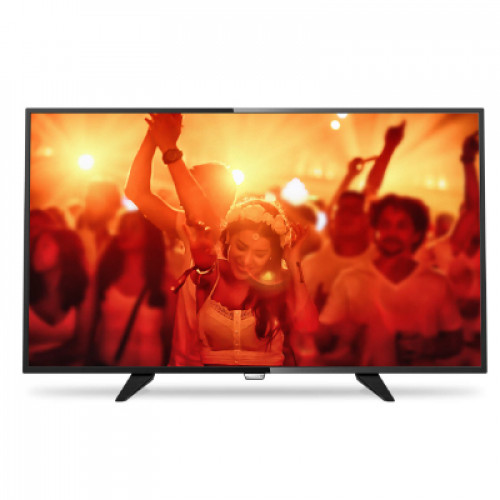 "Philips LED Ultra Slim TV 40"" 40PFT04201/12 FHD 1920x1080p 200cd PPI-200Hz 2xHDMI USB(AVI/MKV) DVB-T/T2/C (MPEG-4) 16W, C:Black, A"