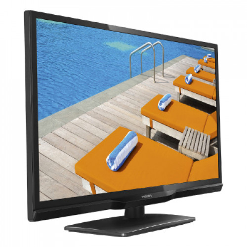 "Philips professional TV, 28"", Easysuite, 1366 x 768p, 310 cd/m², DVB-T2/T/C"