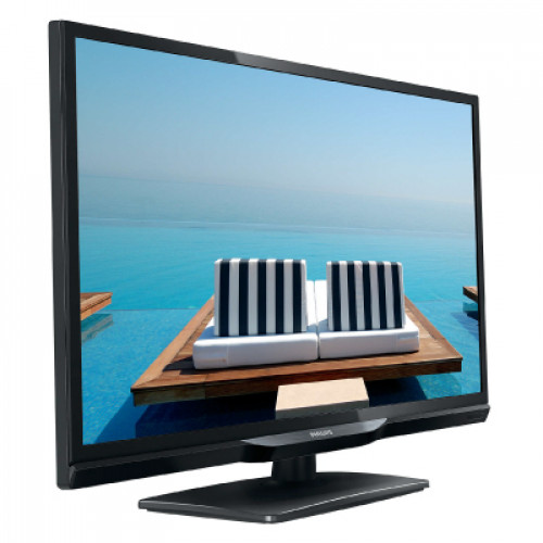 "Philips professional TV, 28"", MediaSuite, 1366 x 768p, 310 cd/m², DVB-T2/T/C & IPTV"