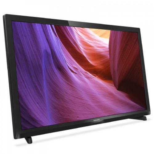 "Philips LED slim TV 22"" 22PFT4000/12 FULLHD 1920x1080p 200cd 100.000:1 100Hz HDMI/VGA USB(AVI/MKV) DVB-T/T2/C (MPEG-4) 5W, C:Black"