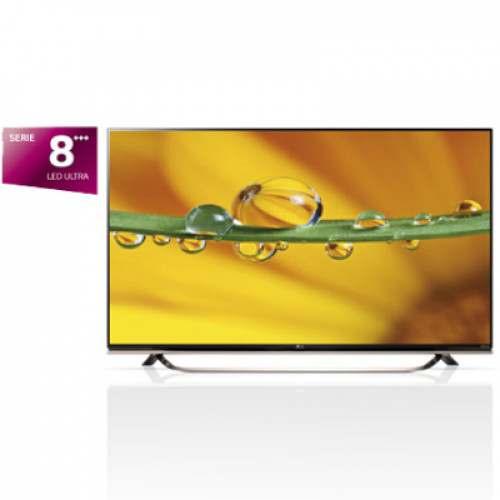 "LG 55"" 3D SMART LED TV 55UF8607 4K IPS UHD 3840x2160 3xHDMI 3xUSB LAN/WiFi/webOS DVB-T2/C/S2 (MPEG-4), Sound 2x20W"