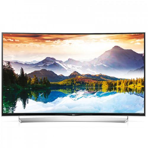 """55"""" 3D SMART CURVED LED TV 55UG870V 4K 3840X2160p 3XHDMI 2XUSB2.0 1XUSB3.0 LAN/WIFI/WEBOS DVB-T2/C/S2 (MPEG-4), SOUND 2.1 10W+10W"""