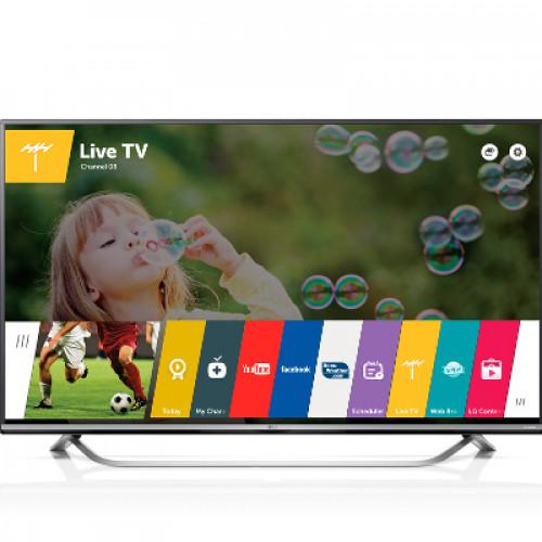 "55"" SMART  LED TV LG55UF7787 4K 3840X2160p PQI 1500 Hz 3XHDMI 2XUSB2.0 1XUSB3.0 LAN/WIFI/WEBOS DVB-T2/C/S2 (MPEG-4), SOUND 2.1 10W+10W"