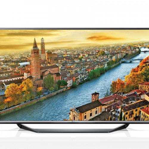 """LG 65"""" LED TV 65UF770V UHD 4K 3840X2160p PQI 1800 Hz 3XHDMI 2XUSB2.0 1XUSB3.0 LAN/WIFI/WEBOS DVB-T2/C/S2 (MPEG-4), SOUND 2.1 10W+10W"""