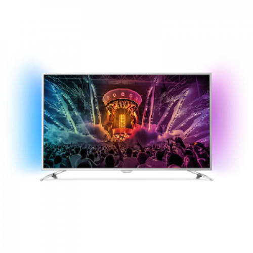 "Philips Android™ Ambilight LED TV 55"" 55PUS6501/12 PPI-1800 UHD 3840x2160p 400cd 4xHDMI 3xUSB LAN WiFi DVB-T/T2/C/S/S2, 20W"