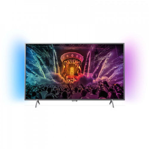 "Philips Android™ Ambilight LED TV 49"" 49PUS6401/12 PPI-1000 UHD 3840x2160p 350cd 4xHDMI 3xUSB LAN WiFi DVB-T/T2/C/S/S2, 20W"